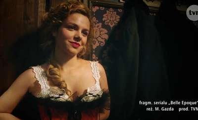 """O nowym serialu """"Belle Epoque"""" opowiada Magdalena Cielecka"""