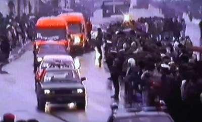 Dzisiaj mija 24. rocznica śmierci Mariana Bublewicza. Zobacz archiwalny film z konduktu pogrzebowego!