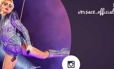 Podczas Super Bowl, Lady Gaga zachwyciła strojami od Versace
