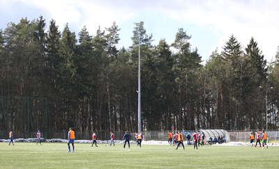 Sparingi. Zimowe granie meczów kontrolnych rozpoczęły Łyna Sępopol i Victoria Bartoszyce