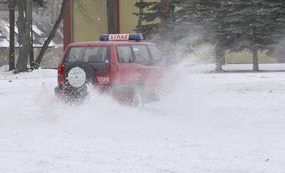 Strażacy z Mrągowa i Kętrzyna doskonalili technikę jazdy