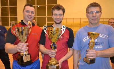 Michał Sargalski - zwycięzcą tenisowej ligi