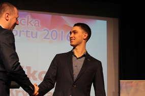 Triathlonista i kolarz Krystian Sikorski (BKK Rant), czyli Sportowiec Roku 2016 w Bartoszycach