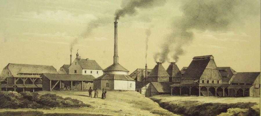 Cegielnie z suszarniami w 1860 r