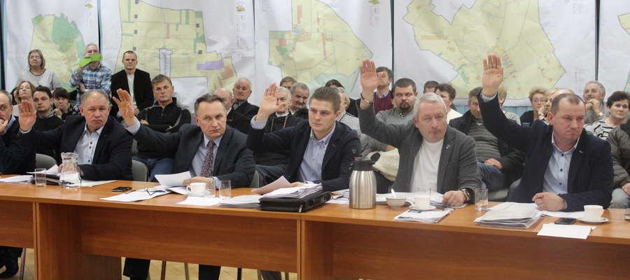 Radni podjęli uchwały ws. planów jednogłośnie