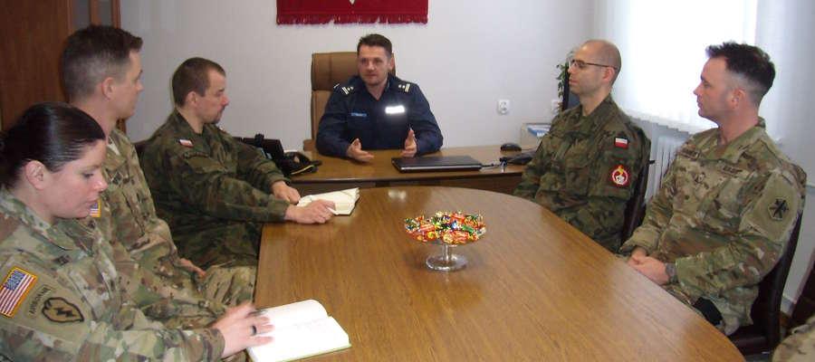 Spotkanie z żołnierzami amerykańskimi w Piszu