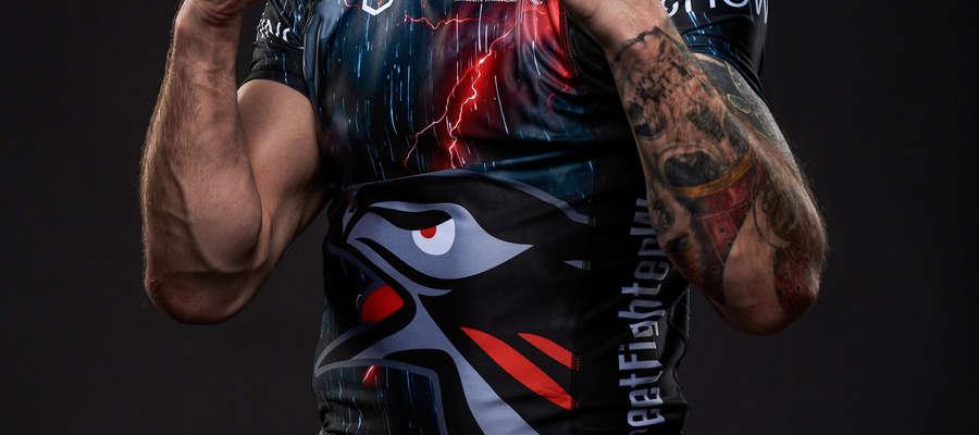 W walce wieczoru wystąpi olsztynianin Adrian Zieliński (Berkut Arrachion)