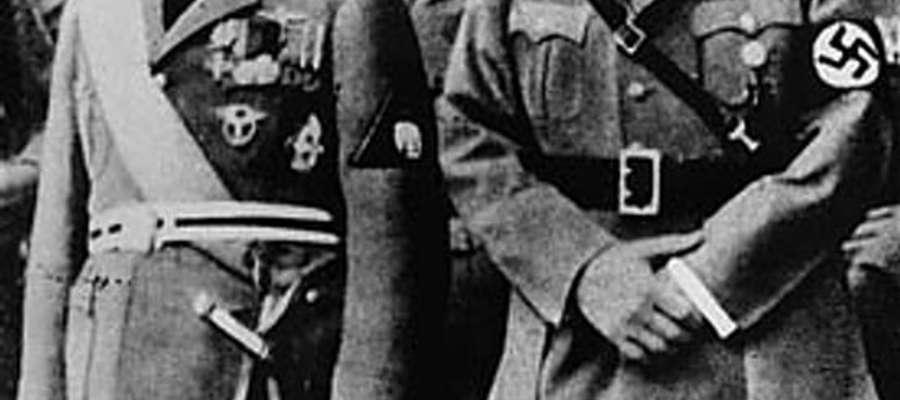 Adolf Hitler i Benito Mussolini