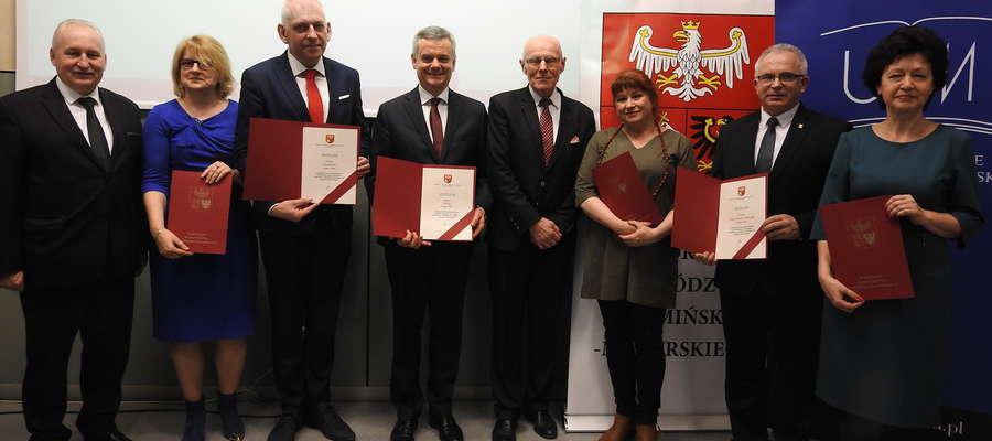 Laureaci w kategorii gmin miejskich z dyplomami