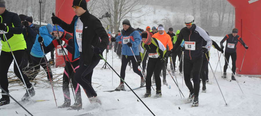 W 12. edycji Zimowego Biegu Sasinów wystartowało ponad 100 uczestników