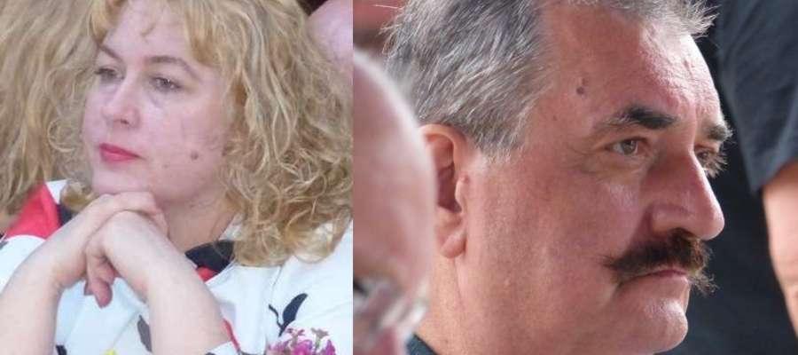 Ewa Wiśniewska, dyrektor ICK i Wojciech Kamiński, były dyrektor artystyczny  Złotej Tarki. Ich konflikt trwa