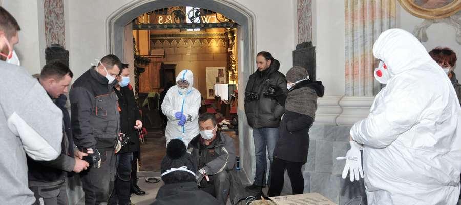 Prace przeprowadził zespół badawczy pod kierunkiem prof. Małgorzaty Grupy z Instytutu Archeologii Uniwersytetu Mikołaja Kopernika w Toruniu