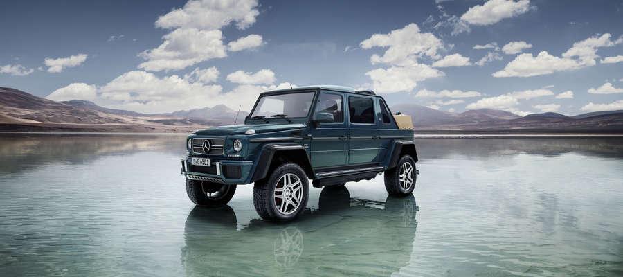 Mercedes-Maybach G 650 landaulet  — luksus w terenie