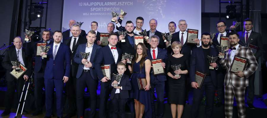 56. plebiscyt na 10 Najpopularniejszych Sportowców Województwa Warmińsko-Mazurskiego. Relacja na żywo!