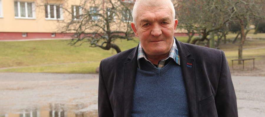 Marian Rucki, sołtys Gajewa, bierze udział w naszym plebiscycie po raz drugi