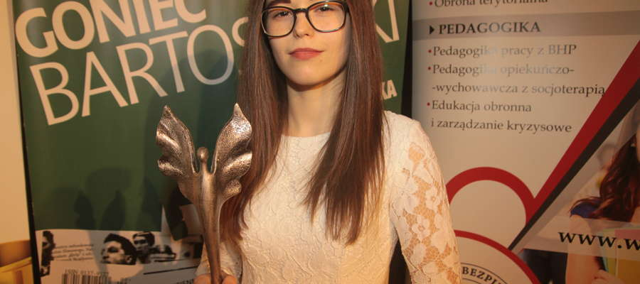 Plebiscyt na 10 Najpopularniejszych Sportowców Bartoszyc w 2016 roku wygrała Katarzyna Rutkowska (Bartoszycka Szkoła Taekwondo)