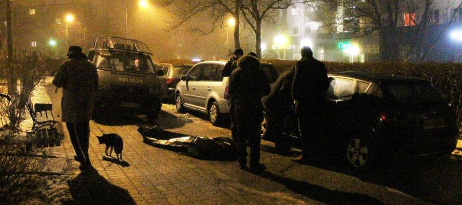 Młody mężczyzna wypadł z okna wieżowca w Olsztynie. Zginął na miejscu