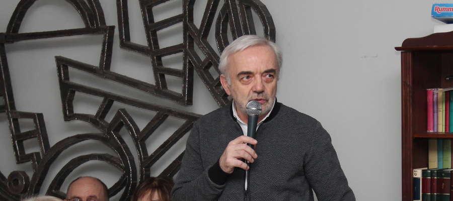 Spotkanie poprowadzi Krzysztof Kossakowski