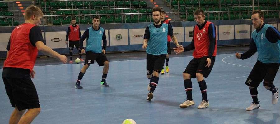 Trening reprezentacji Polski w futsalu