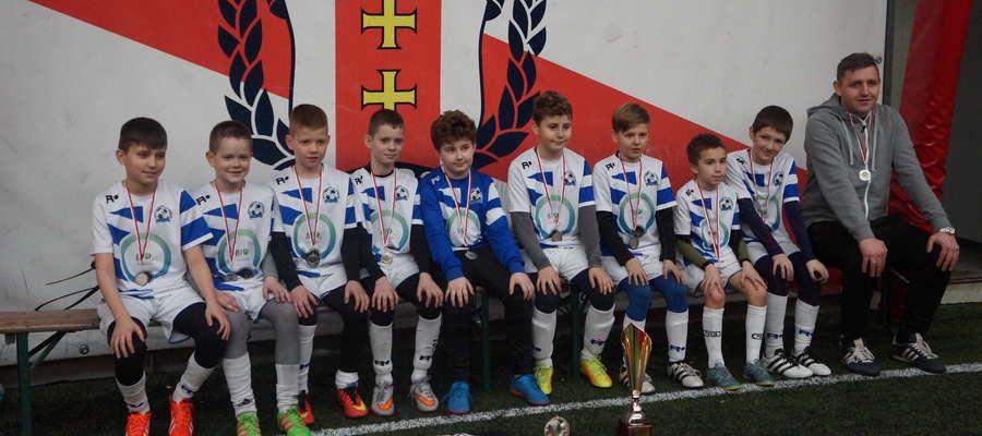 Mały Jeziorak drugi w Gedania Cup 2007. Janek Kotłowski królem strzelców