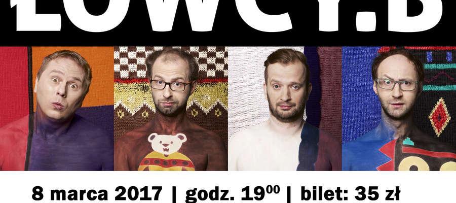 Kabaret Łowcy. B w Młynarach