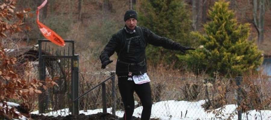 Radosław Etmański na trasie trójmiejskiego ultramaratonu