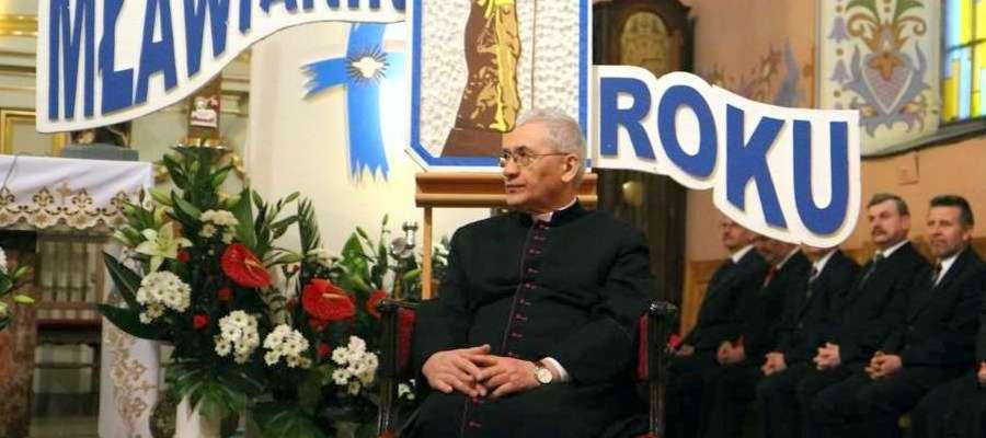 W ubiegłym roku tytuł przyznano ks. Ryszardowi Kamińskiemu