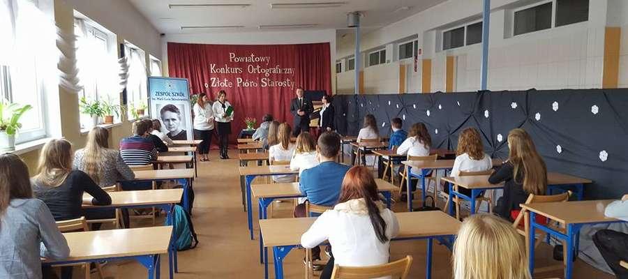 W ubiegłym roku najlepsza z ortografii była Julia Łepkowska z ZSO im. W. Kętrzyńskiego.