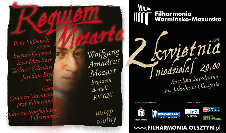 Wolfgang Amadeus Mozart  -  Requiem d-moll KV 626 - full image