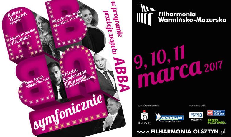 Przeboje ABBA w wersji symfonicznej w Filharmonii Warmińsko-Mazurskiej - full image