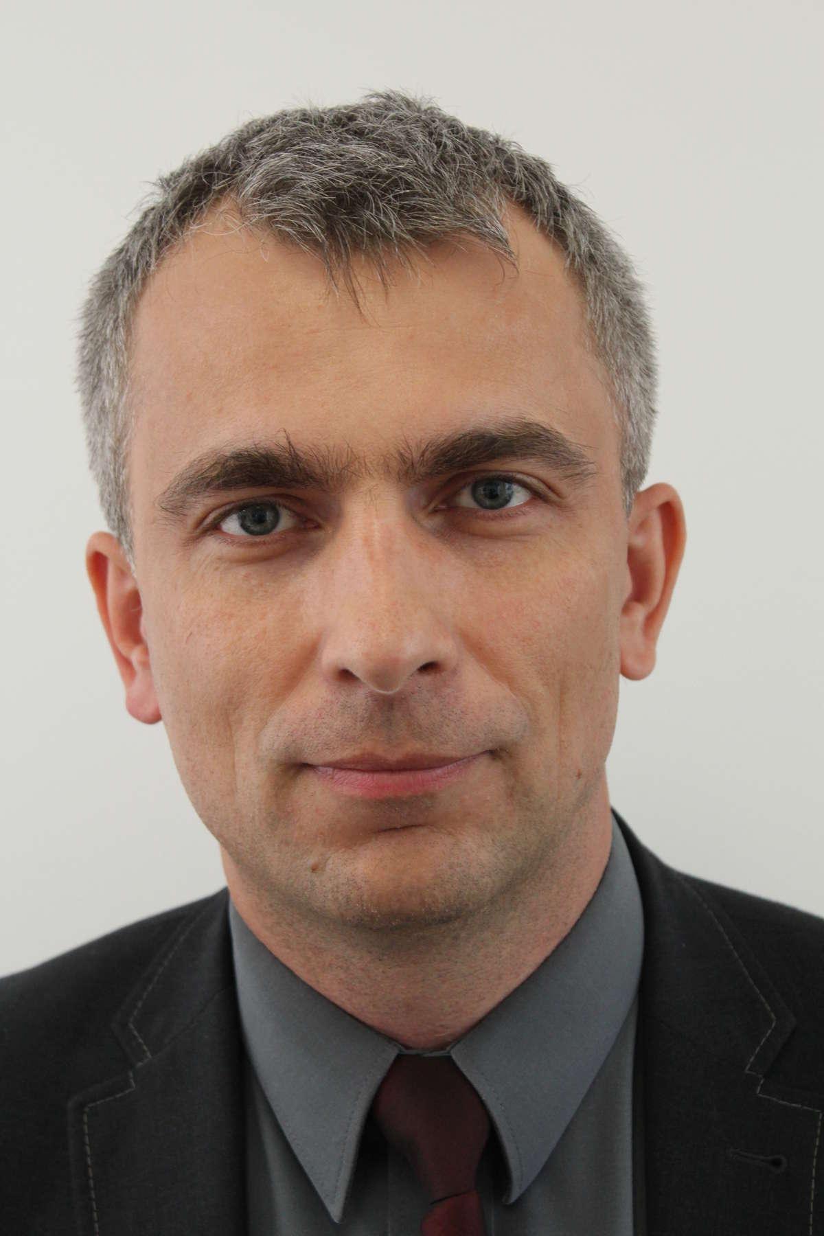 Andrzej Słowik, zastępca Okręgowego Inspektora Pracy - full image