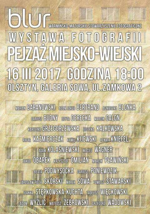 Pejzaż Miejsko-Wiejski w wykonaniu Stowarzyszenia Fotograficznego Blur - full image