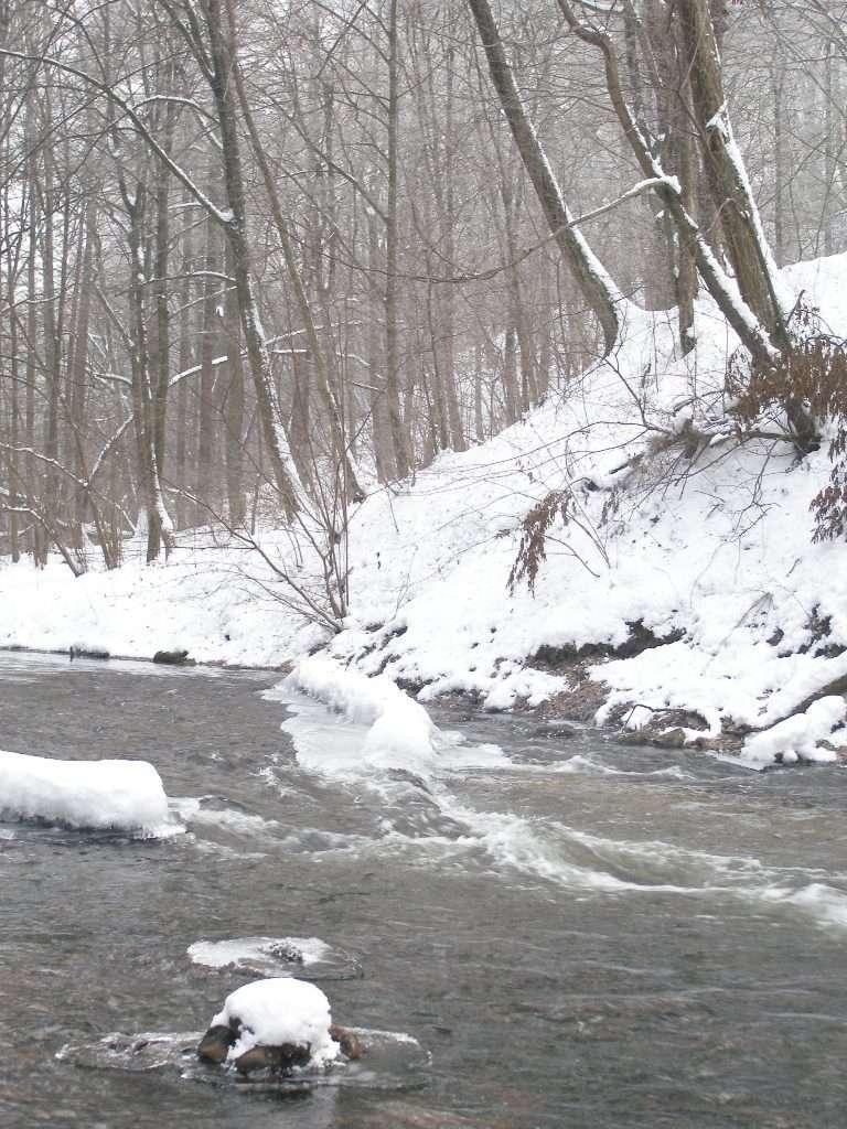 Piekiełko na Welu w środku zimy - full image