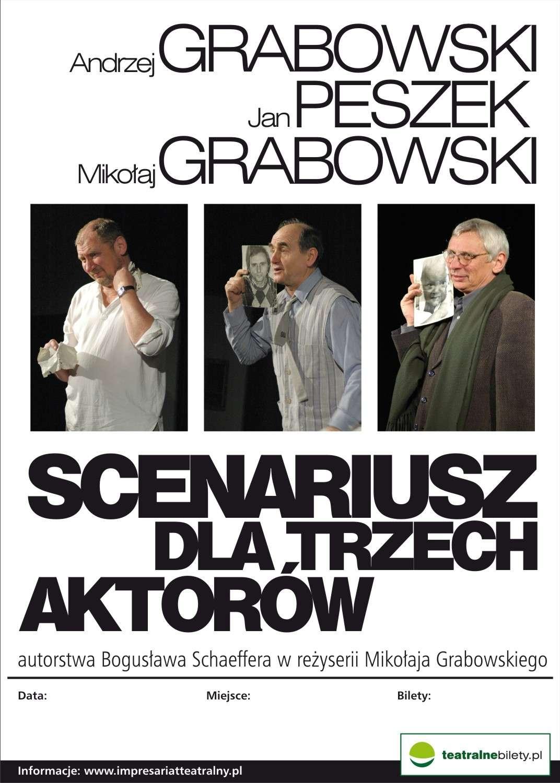 Scenariusz dla trzech aktorów. Szalone trio w CEiKu - full image