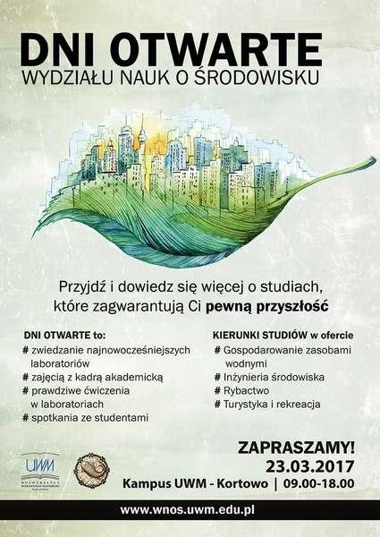 Dzień Otwarty Wydziału Nauk o Środowisku - full image