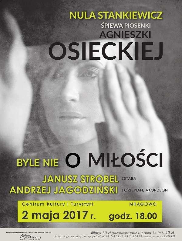 Piosenki Agnieszki Osieckiej w wyjątkowej oprawie - full image