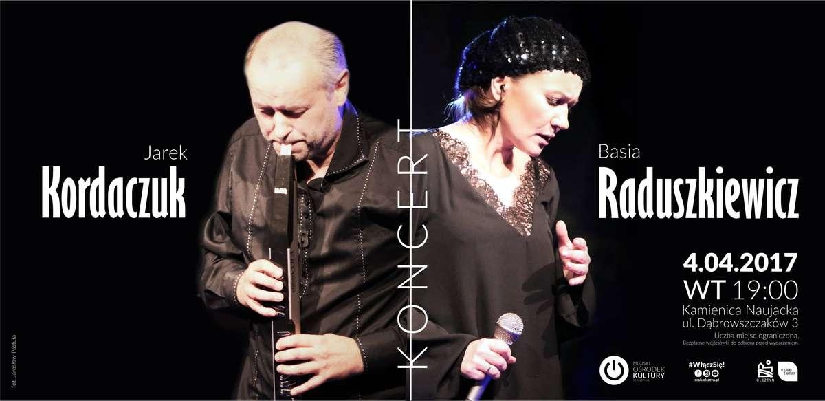 Koncert Basi Raduszkiewicz i Jarka Kordaczuka - full image