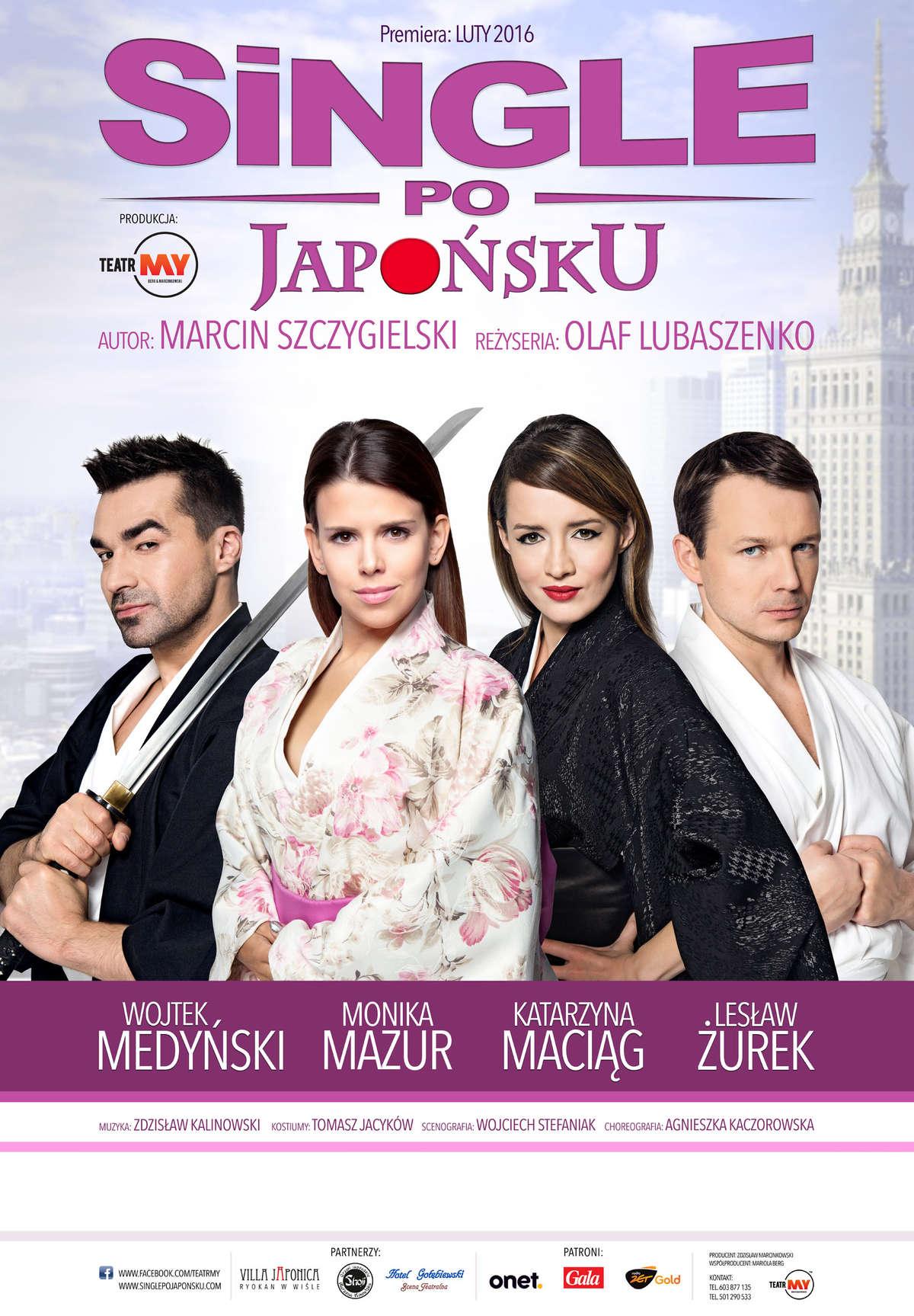 Rzeczywistość w krzywym zwierciadle: Single po Japońsku w Olsztynie. Bilety! - full image