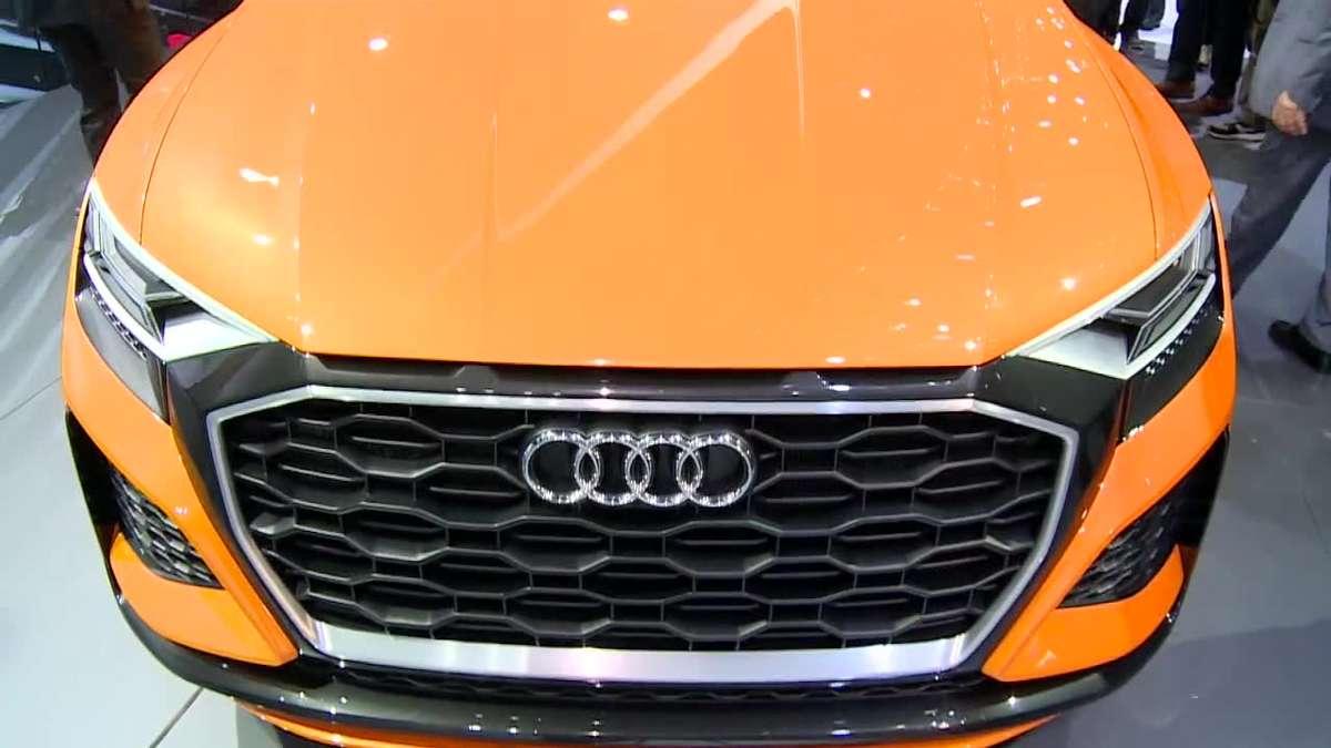Audi zaprezentowało Q8 sport concept na targach w Genewie - full image