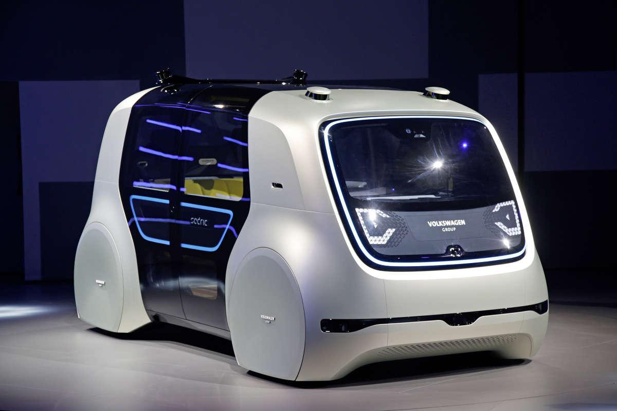 Volkswagen Sedric — piąty poziom autonomii  - full image