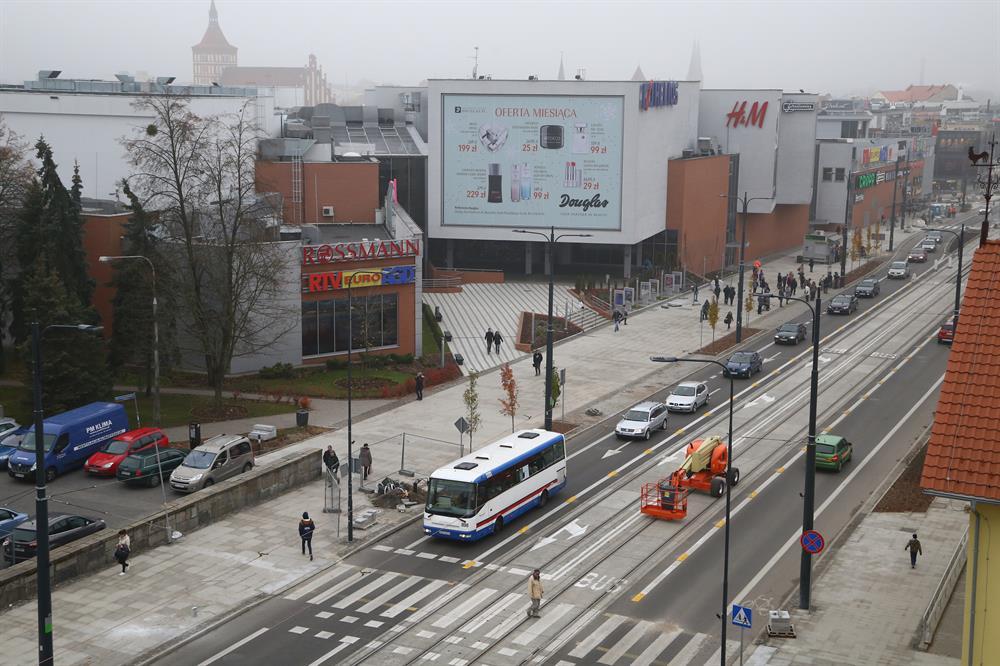 Aura Centrum i Galeria Warmińska w Olsztynie mają tego