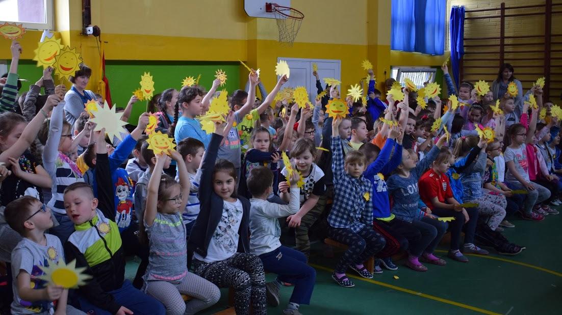 Powitanie Wiosny W Szkole Jedynce Nowe Miasto Lubawskie