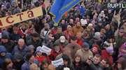 """Protesty na Białorusi przeciwko """"podatkowi od pasożytnictwa"""""""