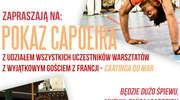 Pokaz capoeira na zamku