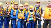 Dziewczyny na rusztowaniach! Trwa kurs montażystów rusztowań w Smolnikach