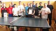 Samorządowcy Gminy Płośnica wygrali turniej tenisa stołowego