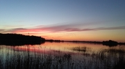 Zdjęcie Tygodnia. Zachód słońca nad jeziorem w Kinkajmach