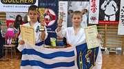 Złoty Kuba, srebrny Maciek — dobry start młodych karateków z Iławy [ZDJĘCIA]