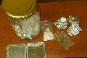 W brodziku schował 70 gramów amfetaminy