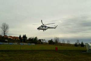 Policja wciąż szuka zaginionego Szymona Bolczaka, do akcji włączono helikopter